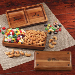 Acacia Tray with Jelly Belly