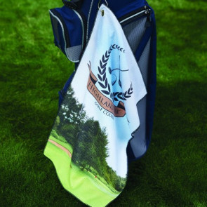 Microfiber Waffle Golf Towel (Pro Vision )