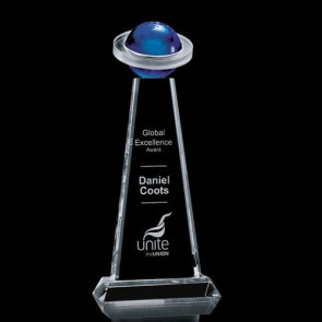 Hampton Globe Award - Optical/Blue 11 in.