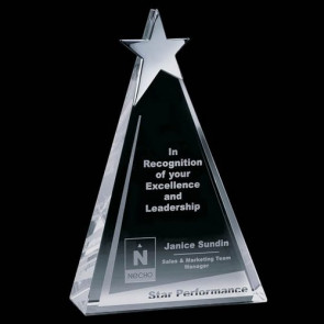Eglinton Star Award - Optical/Chrome 10 in.
