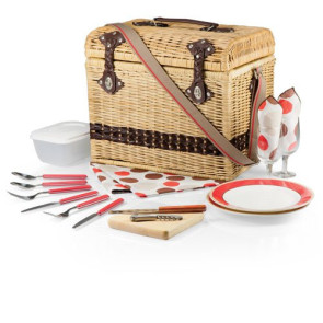 'Yellowstone' Picnic Basket, (Moka Collection)