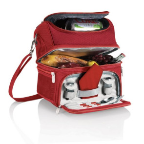 'Pranzo' Lunch Tote, (Red)