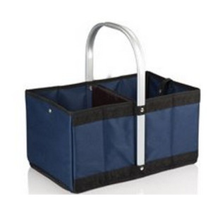 'Urban Basket' Collapsible Tote, (Navy)