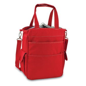 'Activo' Cooler Tote, (Red with Grey)