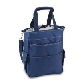 'Activo' Cooler Tote, (Navy with Grey)