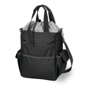 Activo Cooler Tote, (Black with Grey)