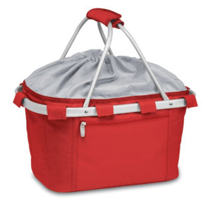 'Metro Basket' Collapsible Cooler Tote, (Red)