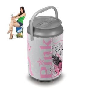 Mega Can Cooler, (Pink Power Design)