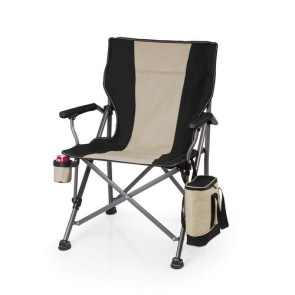 'Outlander' Camp Chair with Cooler, (Black)