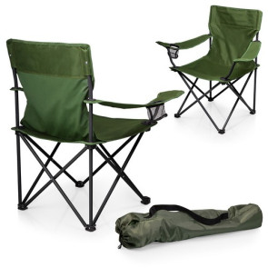 'PTZ' Camp Chair, (Khaki Green)