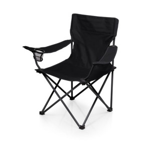 'PTZ' Camp Chair, (Black)