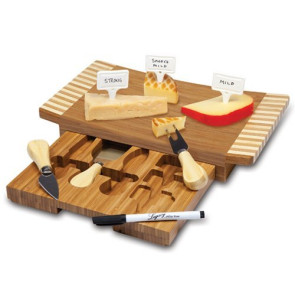 'Concavo' Cheese Board & Tools Set