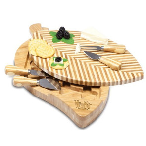 'Leaf' Cheese Board & Tools Set