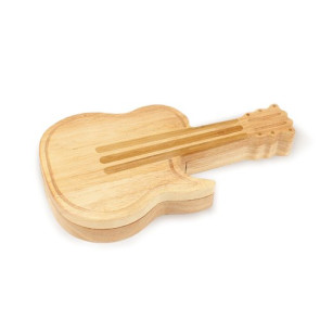 'Guitar' Cheese Board & Tools Set