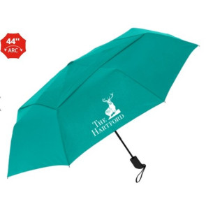 The Vented Cosmopolitan Auto-Open Folding Umbrella