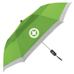 The Lifesaver Vented Reflective Folding Umbrella