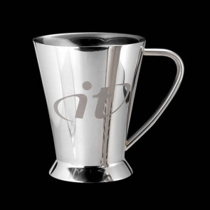 Lansing Footed Mug -Stainless Steel 11oz