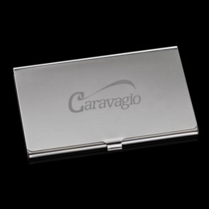 Yorkton Business Card Holder - Polished