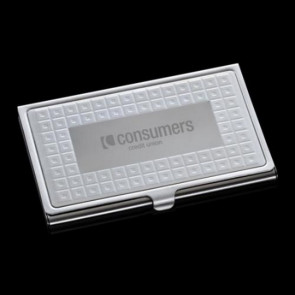 Gina Business Card Case - Polished