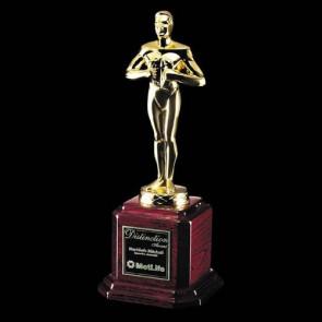 Berkindale Award - Rosewood/Gold 13 in.