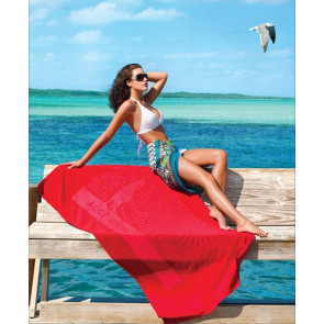 Turkish Signature Midweight Colored Beach Towel
