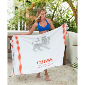 Turkish Custom Fringed Beach Towel