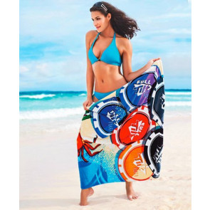 ColorFusion Full Color Custom Beach Towels