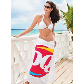 Heavyweight American-Made White Beach Towel
