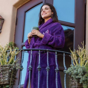 Tahoe Micro Fleece Shawl Collar Robe