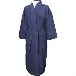 Terry Velour Kimono Robe for Men (Color Embroidered)