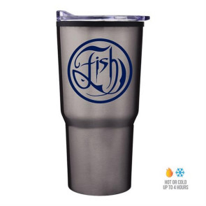 30 oz Economy Tapered Stainless Steel Tumbler With Plastic PP Lin