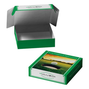 Custom E-Flute Box Tuck Box Double Side  12 X 12 X 3