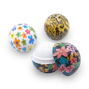 Full Color Round Lip Balm