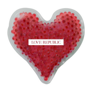Heart Gelbead Hot/Cold Pack