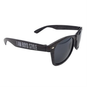 Charcoal Wood Tone Miami Sunglasses