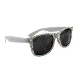 Full Color Imprint Lenstek Miami Sunglasses