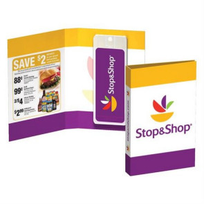 Tek Booklet with Mini Credit Card Antibacterial Hand Sanitizer