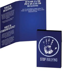 Awareness Tek Booklet with Bling Credit Card Antibacterial Hand S