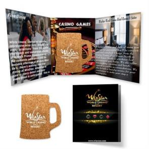 Tek Booklet 2 with Beer Mug Cork Coaster