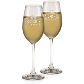 Engraved Riedel  Champagne Glass 9 oz.