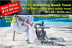 Custom Beach Towel SALE