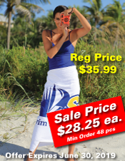 White Custom Beach Towel Sale
