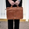 Custom Leather Briefcases
