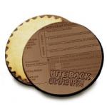Custom Chocolate Logo Cookies