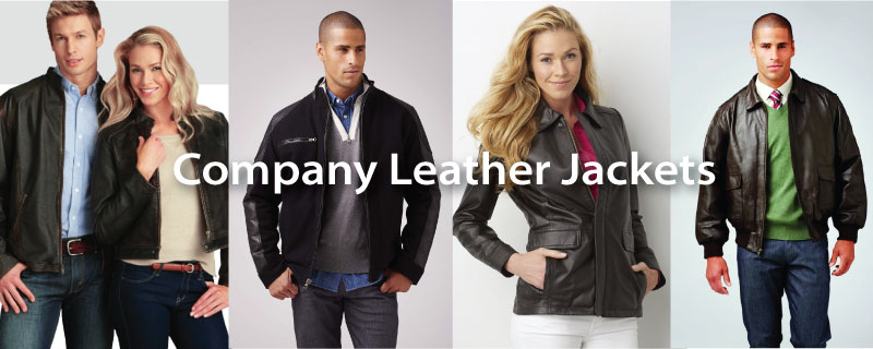 Corporate Logo Leather Jackets