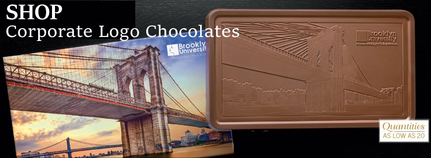 Gourmet Corporate Chocolate Business Gifts with Your Company Logo