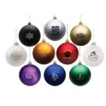 Custom Logo Ball Ornaments