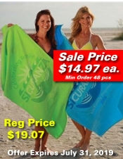 Color Custom Beach Towel SALE