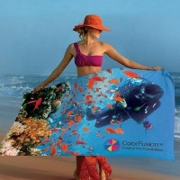 Custom Full Color Printed Beach Towels