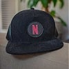 Custom hats embroidered, screen printed and logo deboss on leather
